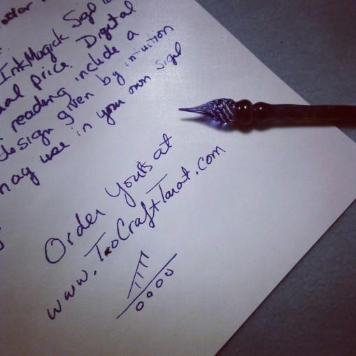 Ink Reading Glass pen